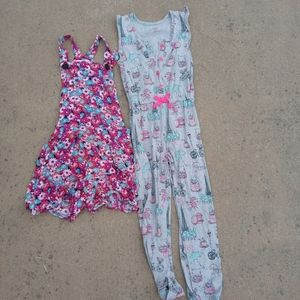 Bundle of 2 girls romper and jumpsuit size 5